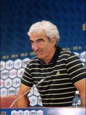 Raymond Domenech le 3 août 2009 à Paris